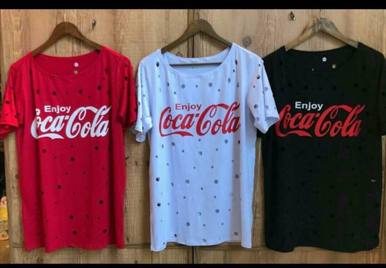 7ce8720792 Camiseta estampa coca-cola (3) - Mon Cherri Moda Feminina