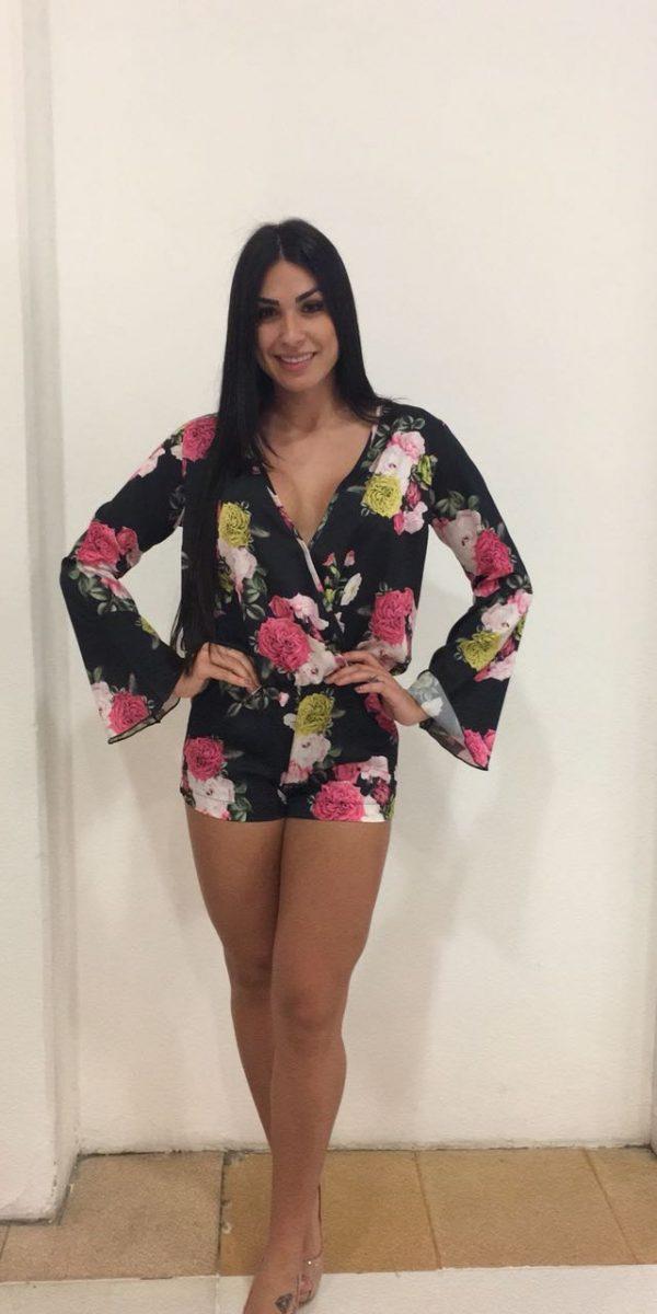 f474f4b42 macacão manga longa - Mon Cherri Moda Feminina