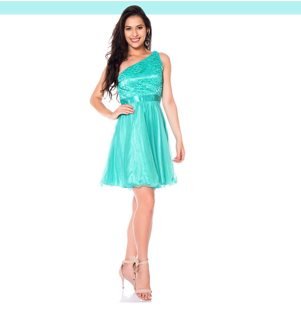 fc1c41238 Vestido curto princesa ombro só - Mon Cherri Moda Feminina