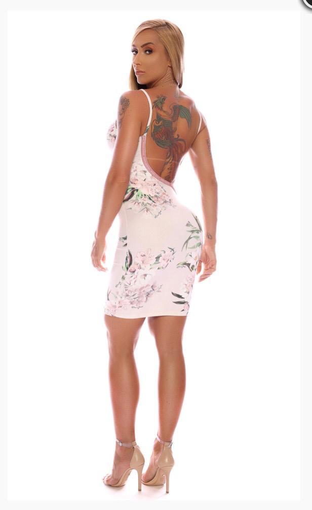 f5291841f Vestido Decote Torcido Maria Gueixa Doce Frescor Rose - Mon Cherri Moda  Feminina